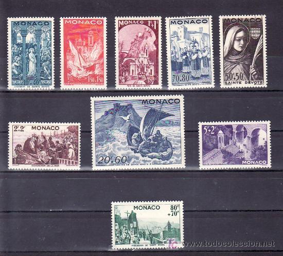 MONACO 265/73 SIN CHARNELA, RELIGION, BARCO, FIESTA DE SANTA DEVOTA, (Sellos - Extranjero - Europa - Mónaco)