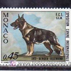 Sellos: MONACO 922 SIN CHARNELA, FAUNA, EXPOSICION CANINA INTERNACIONAL DE MONTE-CARLO, . Lote 11703818