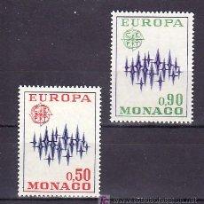 Sellos: MONACO 883/4 SIN CHARNELA, TEMA EUROPA 1972. Lote 11704087