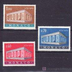 Sellos: MONACO 789/91 SIN CHARNELA, TEMA EUROPA 1969. Lote 11719039