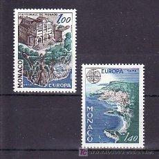 Sellos: MONACO 1139/40 SIN CHARNELA, TEMA EUROPA 1978, MONUMENTOS, CATEDRAL DE MONACO, . Lote 11678089