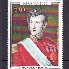 Sellos: MONACO 1124 SIN CHARNELA, PINTURA, MONARQUIA, PRINCIPE HONORE V DE MONACO,. Lote 11678169