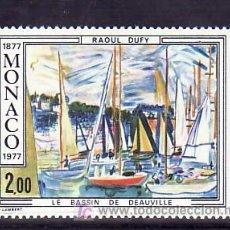 Sellos: MONACO 1097 SIN CHARNELA, PINTURA, CENTENARIO NACIMIENTO DE RAOUL DUFY, . Lote 11678582