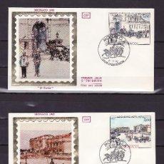 Sellos: MONACO 1340/1 PRIMER DIA, PINTURA, MONTE-CARLO Y MONACO EN LA BELLE EPOQUE (1870/1925). Lote 16749615