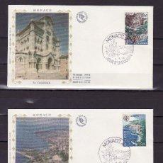 Sellos: MONACO 1139/40 PRIMER DIA, TEMA EUROPA, MONUMENTOS. Lote 278757308