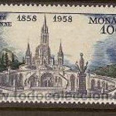 Sellos: SELLO DE MONACO AEREO Nº 69 SEÑAL DE FIJASELLOS AÑO 1958. Lote 17689744