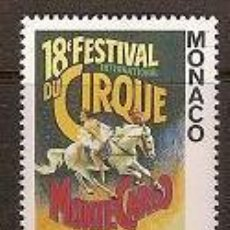 Sellos: SELLO DE MONACO AÑO 1994 YVERT 1923 TEMA CIRCO . Lote 17690382