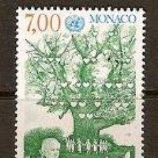 Sellos: SELLO DE MONACO YVERT 1939 AÑO 1994 AÑO INTERNACIONAL DE LA FAMILIA . Lote 17690628