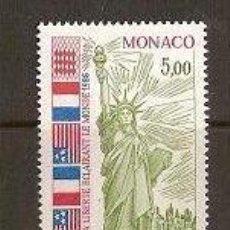 Sellos: SELLO DE MONACO AÑO 1986 YVERT 1535. Lote 17691546
