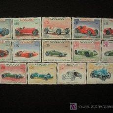 Sellos: MONACO 1967 IVERT 708/21 *** 25 GRAN PRIX DEL AUTOMOVIL DE MONACO - COCHES. Lote 32467926