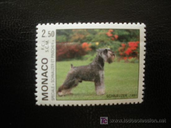 MONACO 1991 IVERT 1760 *** EXPOSICIÓN CANINA INTERNACIONAL DE MONTECARLO - PERROS - FAUNA (Sellos - Extranjero - Europa - Mónaco)