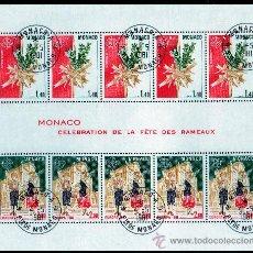 Sellos: MÓNACO AÑO 1981 YV B19*º MI B17*º EUROPA - FOLKLORE - FIESTAS POPULARES. Lote 27284783