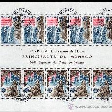 Sellos: MÓNACO AÑO 1982 YV HB 21*º EUROPA - HECHOS HISTÓRICOS - HISTORIA. Lote 27299084