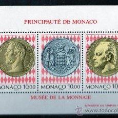 Sellos: MÓNACO AÑO 1994 YV HB 66*** MUSEO DE LA MONEDA - NUMISMÁTICA - REALEZA. Lote 27401297