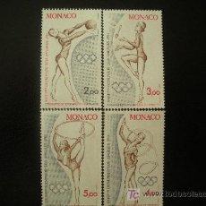 Sellos: MONACO 1984 IVERT 1412/5 *** JUEGOS OLIMPICOS DE LOS ANGELES - DEPORTES. Lote 22155257