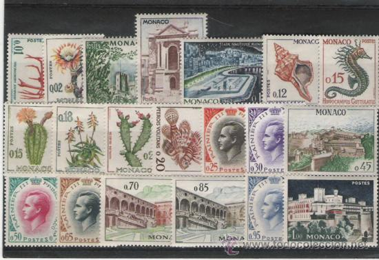MONACO SELLOS DE LA SERIE Nº 537A/550A (Sellos - Extranjero - Europa - Mónaco)
