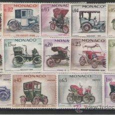 Sellos: MONACO SELLOS DE LA SERIE Nº 557/570. Lote 27077564