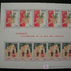 Sellos: MONACO 1981 HB IVERT 19 *** EUROPA - FOLKLORE. Lote 22472495