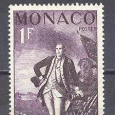 Sellos: MONACO, 1956. Lote 22818203