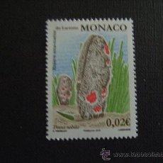Sellos: MONACO Nº YVERT 2736*** AÑO 2010. FAUNA. RESERVA DE LARVOTTO. Lote 276972808