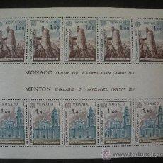 Sellos: MONACO 1977 HB IVERT 13 *** EUROPA - MONUMENTOS. Lote 27797626