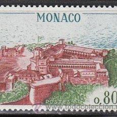Sellos: MONACO (729), VISTA AEREA DEL PALACIO DE LOS PRINCIPES, NUEVO. Lote 29670237