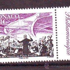 Sellos: MONACO***.AÑO 2009.TEMA MUSICA.CONCIERTO.. Lote 171974882