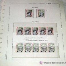 Sellos: EDIFIL EUROPA HOJA DE ALBUM SELLOS Nº 124 MONACO. Lote 28149968