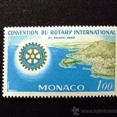 Sellos: MONACO YVERT 726 ** MNH ROTARY INTERNATIONAL. Lote 34674253
