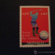 Selos: MONACO Nº YVERT 2254***AÑO 2000. TORNEO DE GOLF. Lote 34965889