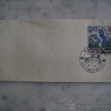 Sellos: FDC-PRIMER DIA DE EMISION-XXIII RALLYE DE MONTECARLO 1958-COCHES,DEPORTES. Lote 35842843