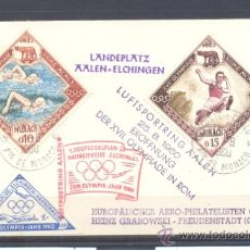Sellos: 1960.- MONACO A ALEMANIA. Lote 36244086