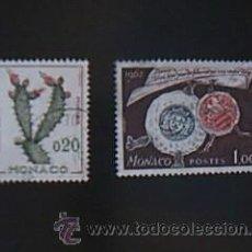 Sellos: LOTE 2 SELLOS MONACO. Lote 38033805