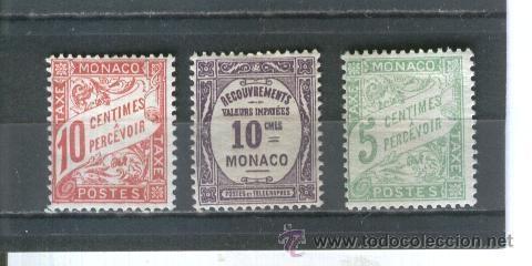 SELLOS ANTIGUOS MONACO (Sellos - Extranjero - Europa - Mónaco)