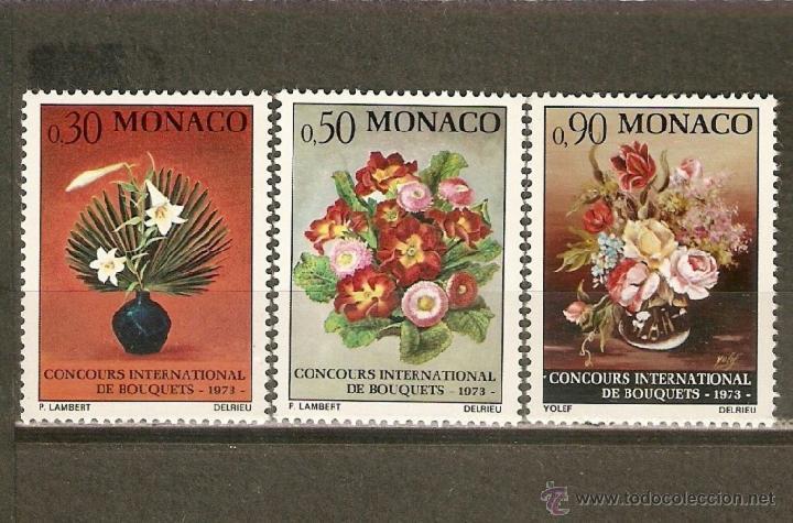 MONACO YVERT NUM. 897/99 ** SERIE COMPLETA SIN FIJASELLOS (Sellos - Extranjero - Europa - Mónaco)