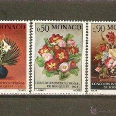 Sellos: MONACO YVERT NUM. 897/99 ** SERIE COMPLETA SIN FIJASELLOS. Lote 40012767