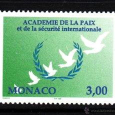 Sellos: MONACO 2149** - AÑO 1998 - 30º SESION DE LA ACADEMIA DE LA PAZ. Lote 40855461