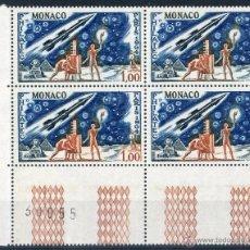 Sellos: MÓNACO AÑO 1964 YV 636*** - BL4 - EXPOSICION FILATELICA INTERNACIONAL PHILATEC EN PARÍS. Lote 40975494