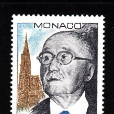 Sellos: MONACO 1638** - AÑO 1988 - CENTENARIO DEL NACIMIENTO DE JEAN MONET. Lote 41018323