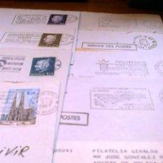 Sellos: .HISTORIA POSTAL MODERNA CIRCULADA MONACO 50 SOBRES, DIVERSAS CALIDADES, + FOTOS. Lote 41235167