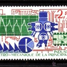 Sellos: MONACO 1601** - AÑO 1987 - ACTIVIDADES INDUSTRIALES DEL PRINCIPADO - INDUSTRIA ELECTROMECANICA. Lote 41298526