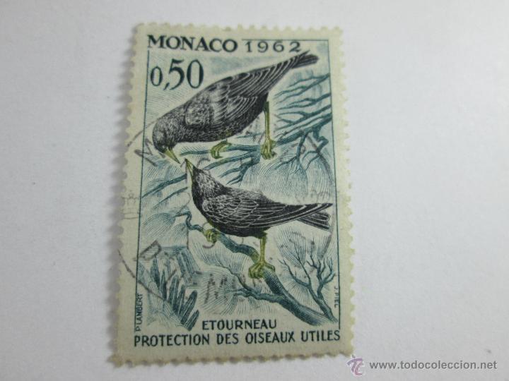 SELLO MÓNACO-O,5O-1962-ETOURNEAU-BUEN ESTADO-. (Sellos - Extranjero - Europa - Mónaco)