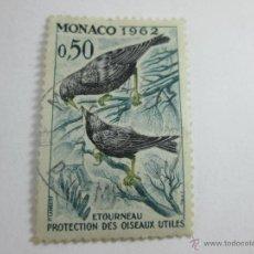 Sellos: SELLO MÓNACO-O,5O-1962-ETOURNEAU-BUEN ESTADO-.. Lote 44081022
