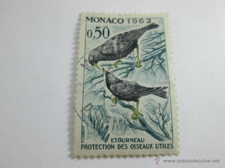 Sellos: SELLO MÓNACO-O,5O-1962-ETOURNEAU-BUEN ESTADO-. - Foto 4 - 44081022