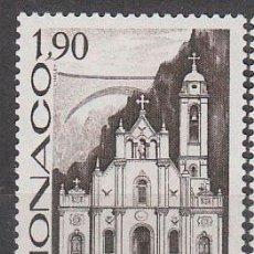 Sellos: MONACO 1573, CENTENARIO DE LA FUNDACION DE LA PARROQUIA DE SANTA DEVOTA, NUEVO ***. Lote 45314778