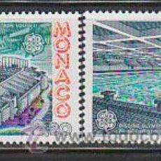 Sellos: MONACO 1565/6, EUROPA 1987, ESTADIO LUIS II Y PISCINA OLIMPICA PRINCIPE ALBERTO, NUEVO ***. Lote 45314810