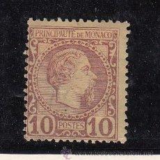 Sellos: MONACO 4 CON CHARNELA, PRINCIPE CARLOS III. Lote 45420239