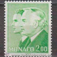 Sellos: MONACO 1283, PRINCIPES RAINIERO Y ALBERTO, NUEVOS***. Lote 45488459
