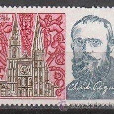 Sellos: MONACO IVERT 925, CENTENARIO DE CHARLES PEGUY Y CATEDRAL DE CHARTRES, NUEVO ***. Lote 46174657
