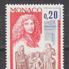 Sellos: MONACO IVERT 919, 3º CENTENARIO DE MOLIERE (TEATRO), NUEVO ***. Lote 46174822